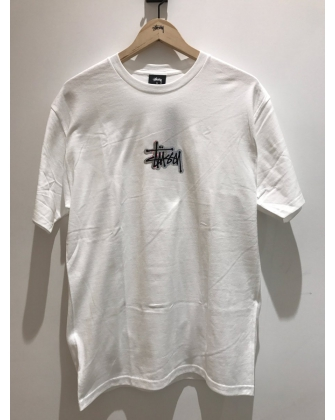 STUSSY INTERNATIONAL TEE WHITE
