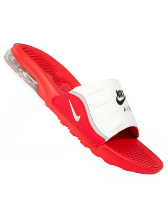 [BQ4633-600] NIKE AIR MAX CAMDEN SLIDE RED/WHITE